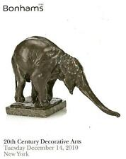 Bonhams 20th C. Decorative Design & Nouveau Arts Post Auction Catalog 2010