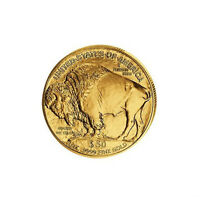 CHOICE GEM BRILLIANT UNCIRCULATED $50 BUFFALO GOLD UNITED STATES COIN