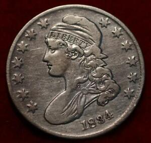 1834 Philadelphia Mint Silver Capped Bust Half Dollar