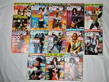Total Guitar Magazines 2004 Lot Bundle of 13 + 5 Other Guitar Magazines