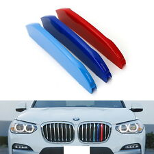 ///M-Color Grille Insert Trims For 2018-up BMW G01 X3 w/ 7 Standard Grille Beams