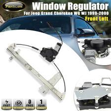 1x Front Left Window Regulator With Motor for Jeep Grand Cherokee WG 2001-2004