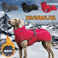Waterproof Dog Jacket Reflective Large Dog Clothes Coat Winter Warm Outdoor