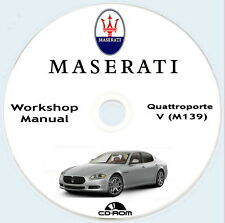 Maserati Quattroporte V M139,Workshop Manual,  Maserati QP 2006 manuale officina