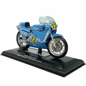 1:22 1982 Vintage Suzuki RG 500 Motorcycle Sports Bike Model Diecast Collection