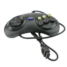 6 Button Wired Pad Gamepad Controller For Mega Drive Megadrive Sega MD Genesis