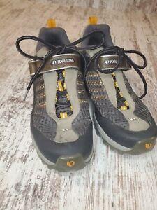 Pearl iZumi Womens X-Alp Low Cycling shoes sz 42 (US 10.5) 2 bolt gray orange