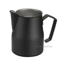 Motta Black Professional Milk Frothing Pitcher 12 oz / .35 cl - Made in Italy