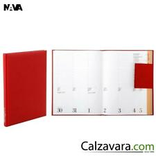 NAVA Agenda Settimanale 2020 Weekly Diary/Planner 20x26 cm - Red