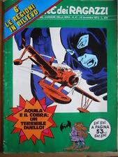 Corriere dei Ragazzi n°47 1973 con inserto Regioni + schede Poster  [G419]