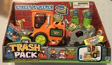 ! Trash Pack Series 1 Green Cans Street Sweeper Original
