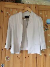 Coast Pale Pink Blush Jacket Blazer 12 Wedding Christening Nude Short