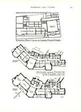 1905 House Near Dublin William Caroe Design And Floorplan