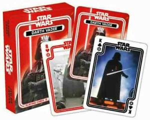 STAR WARS - DARTH VADER Original Series Playing Cards Licensed DARK SIDE