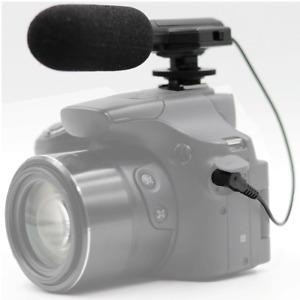 Vivitar Universal Mini Microphone MIC-403 FOR Canon VIXIA HF R500 Camcorder