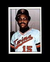 Darnell Glenn Ford Signed 1975 SSPC Minnesota Twins Autograph