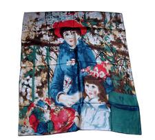 carré écharpe en soie femme enfant 100%