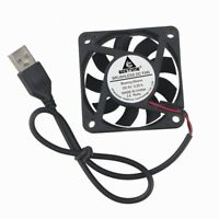 5V USB Connection 6cm 60x60x15mm Brushless DC 60MM Cooling Fan Cooler