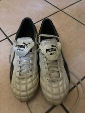 005b2b76a scarpe da calcio Puma Bianche numero 42 condizioni usate pochissimo come  nuove