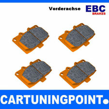 EBC Brake Pads Front Orange Fabric for Porsche 928 - DP9997