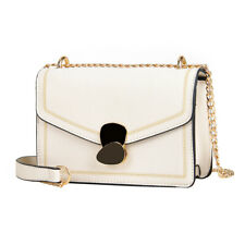Women Casual Small Crossbody Bag Elegant Satchel Chain Shoulder Snap Purse New