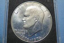 """1776-1976-S  EISENHOWER BiCENTENNIAL """"S-PROOF"""" SILVER  DOLLAR, """"BU"""" UNCIRCULATED"""
