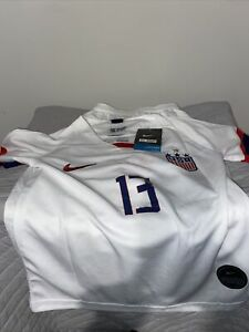 Nike Team USA Soccer Alex Morgan #13 Jersey and Shorts Youth Size 22 NWT