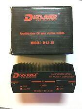 AMPLIFICATEUR CB 27 MHz DIRLAND  D-LA-35 PUISSANCE MAX 35W NEUF DANS SA BOITE