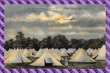 CPA 10 - MAILLY - La vie au camp - 10 heures du soir - l'estinction des feux