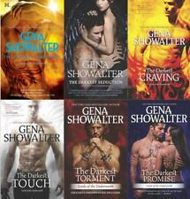Gena Showalter LORDS OF THE UNDERWORLD Paranormal Series Collection Books 8-13