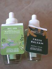 LOT 2 - (1) Bath & Body Works Autumn Woods bulb and (1) Fresh Balsam bulb.
