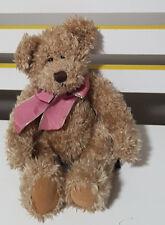 RUSS BERRIE HARLINGTON TEDDY BEAR BEANIE TOY SOFT TOY PLUSH TOY 27CM TALL!