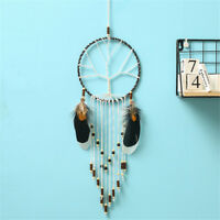Retro Feather Dream Catcher Car Pendant Home Wall Hanging Decoration Gift