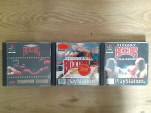 Victory Boxing, Victory Boxing 2, Victory Boxing Challenger For PS1