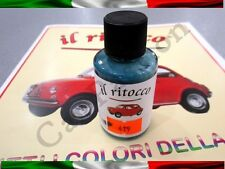 CAR TOUCH UP PAINT FIAT OLD 500 CINQUECENTO VARNISH POLISH 419 turquoise blue