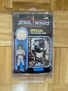 Star Wars 1984 AT-ST Driver Moc Kenner Collectors Coin