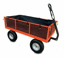 Sherpa SLGT3 Large Utility Garden Cart V2 with Puncture Proof Tyres