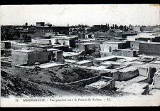MARRAKECH (MAROC) VILLAS & PALAIS du SULTAN début 1900