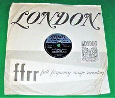 """CARL PERKINS: Blue Suede Shoes / Honey Don't 10"""" 78RPM  London HL-U.8271 EX/-"""