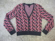 Vintage AQUA CASHMERE cardigan SWEATER women's S