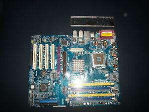 Mainboard ASRock 775Dual-VSTA für Sockel 775 mit Slotblende