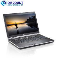"""Fast Dell Latitude 15.6"""" Laptop Computer Core i5 4GB Ram 250GB Windows 10 Pro"""