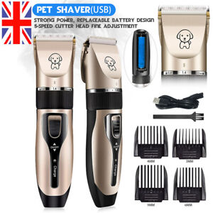 Young Dog Clippers USB Rechargeable Cordless Electric Pet Clippers for Dogs and Cat Hair Around Face Paws