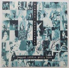 Alanis Morissette Signed Jagged Little Pill Live Laserdisc Musical Cambridge ART