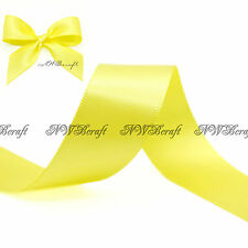 5M - 10M Best Quality Double Sided Satin Ribbon 3mm 6mm 10mm 16mm 22mm 28mm 50mm