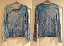 """Six Twenty Seven"" Blue Paisley Design Shirt"