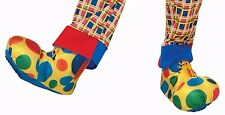 Clown Shoe Covers Boot Cover Polka Dot Shoes Unisex Costume Footwear Adult Size