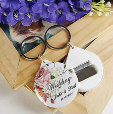20pcs Personalized Bottle Opener Customized Wedding Favors Gifts For Guests