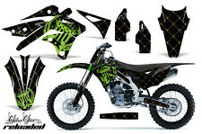 AMR Racing Kawasaki KX250 Graphic Number Plate Kit Bike Decal MX Part 13-15 SR G