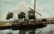 13416/ Foto AK, Gravenhage, Molen aan den Trekvliet, Windmühle, 1907